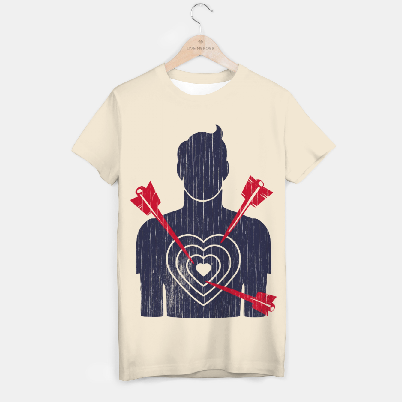Image of Target T-shirt - Live Heroes