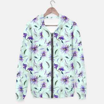 Thumbnail image of Watercolor flowers Sudadera con capucha, Live Heroes