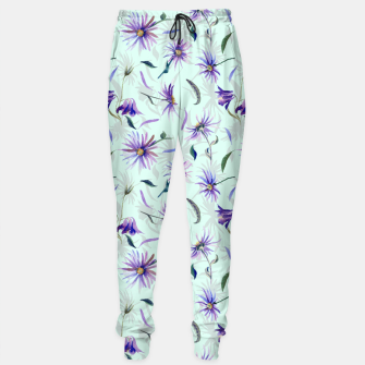 Thumbnail image of Watercolor flowers Pantalones de chándal, Live Heroes
