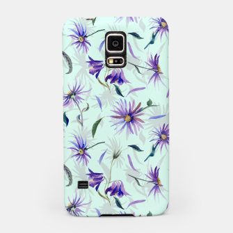 Thumbnail image of Watercolor flowers Carcasa por Samsung, Live Heroes