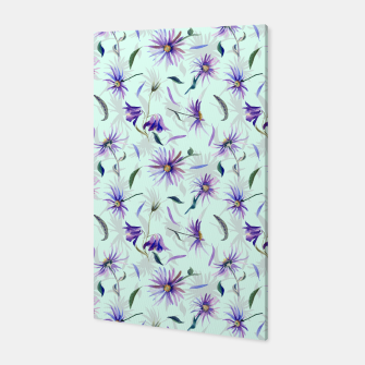 Thumbnail image of Watercolor flowers Canvas, Live Heroes