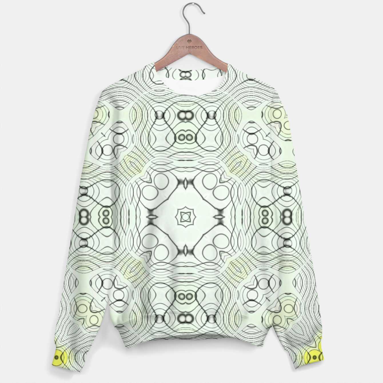Image of First Unisex sweater - Live Heroes