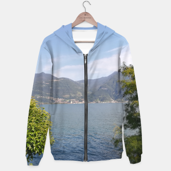 Thumbnail image of Just a lake, very pretty hoodie, Live Heroes