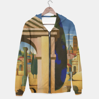 Thumbnail image of Vintage Rome Travel Poster Hoodie, Live Heroes