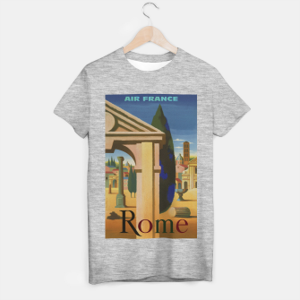 Thumbnail image of Vintage Rome Travel Poster T-shirt regular, Live Heroes