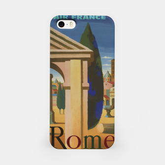 Thumbnail image of Vintage Rome Travel Poster iPhone Case, Live Heroes