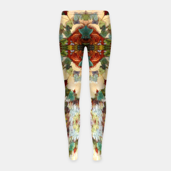 Thumbnail image of PixelAM43-Pattern233344 Girl's Leggings, Live Heroes