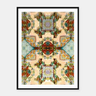 Thumbnail image of PixelAM43-Pattern233344 Framed poster, Live Heroes