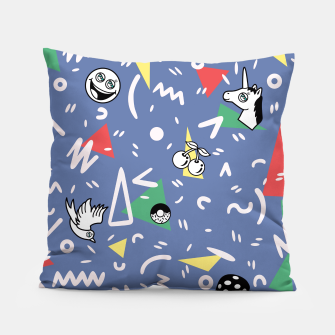 Thumbnail image of PLAYFUL TIMES Pillow, Live Heroes