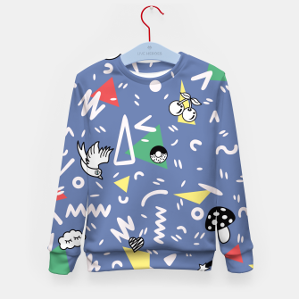 Thumbnail image of PLAYFUL TIMES Kid's Sweater, Live Heroes