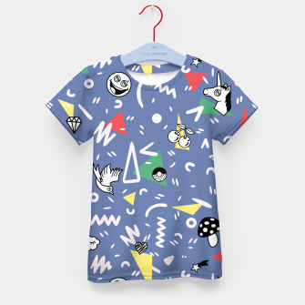 Thumbnail image of PLAYFUL TIMES Kid's T-shirt, Live Heroes