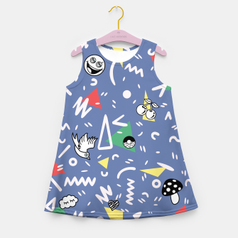 Thumbnail image of PLAYFUL TIMES Girl's Summer Dress, Live Heroes
