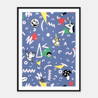 Thumbnail image of PLAYFUL TIMES Framed poster, Live Heroes