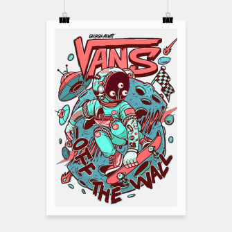 VANS - off the wall alien Poster obraz miniatury