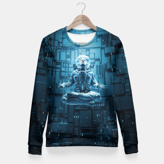 Astro Lotus Fitted Waist Sweater Bild der Miniatur