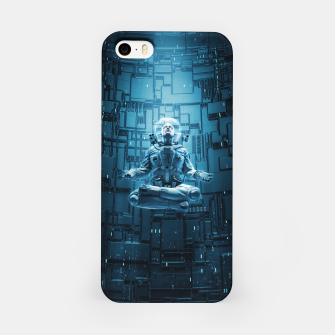 Astro Lotus iPhone Case Bild der Miniatur