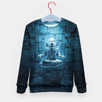 Astro Lotus Kid's Sweater Bild der Miniatur