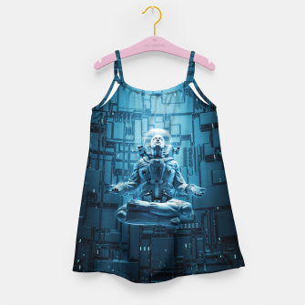 Astro Lotus Girl's Dress Bild der Miniatur