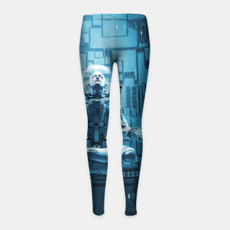 Astro Lotus Girl's Leggings Bild der Miniatur