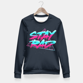 Stay Rad 2 Fitted Waist Sweater obraz miniatury