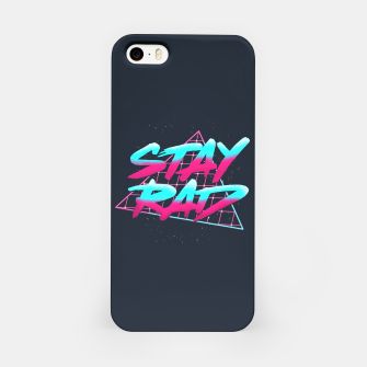 Stay Rad 2 iPhone Case obraz miniatury