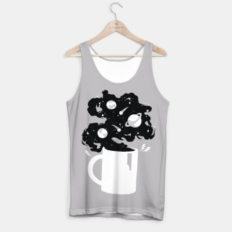 Galaxy Coffee Tank Top obraz miniatury