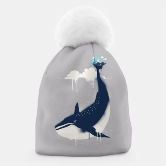 Blue Whale and Surfer Beanie obraz miniatury