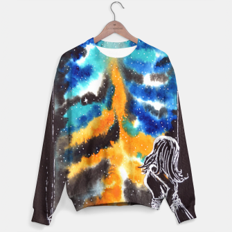 "Miniaturka ""An astonishing night"" #nature #inspiration #buyart Sweater, Live Heroes"