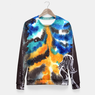 "Miniaturka ""An astonishing night"" #nature #inspiration #buyart Fitted Waist Sweater, Live Heroes"