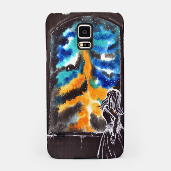"Miniaturka ""An astonishing night"" #nature #inspiration #buyart Samsung Case, Live Heroes"