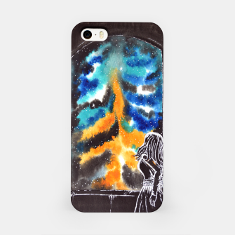 "Miniaturka ""An astonishing night"" #nature #inspiration #buyart iPhone Case, Live Heroes"
