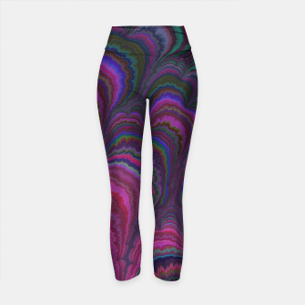 Thumbnail image of Summer Breeze  Yoga Pants, Live Heroes