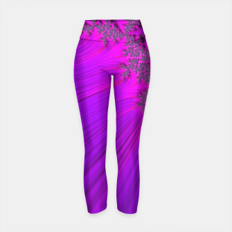 Thumbnail image of Purple Space  Yoga Pants, Live Heroes