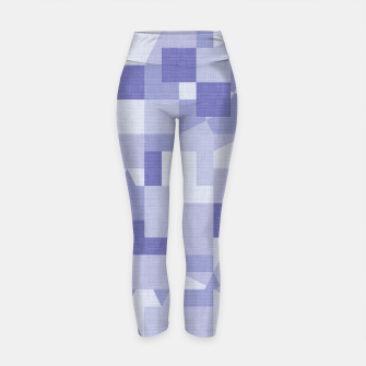 Thumbnail image of Purple pattern Yoga Pants, Live Heroes