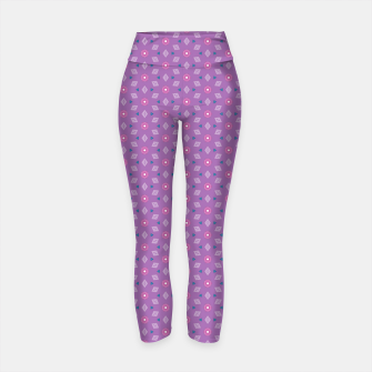 Thumbnail image of Girly Flowers  Yoga Pants, Live Heroes