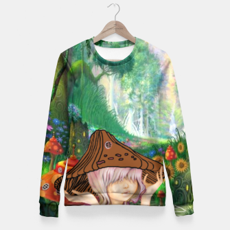 Miniaturka Fairy in the woods Fitted Waist Sweater, Live Heroes