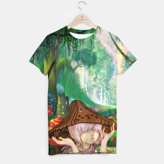 Miniaturka Fairy in the woods T-shirt, Live Heroes