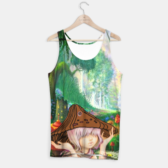 Miniaturka Fairy in the woods Tank Top, Live Heroes