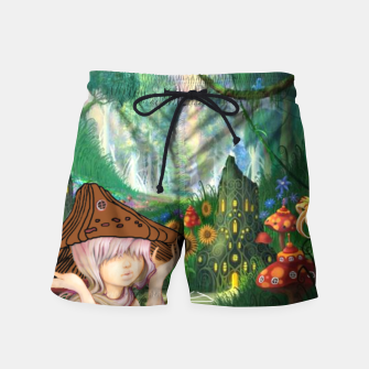 Miniaturka Fairy in the woods Swim Shorts, Live Heroes