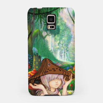 Miniaturka Fairy in the woods Samsung Case, Live Heroes