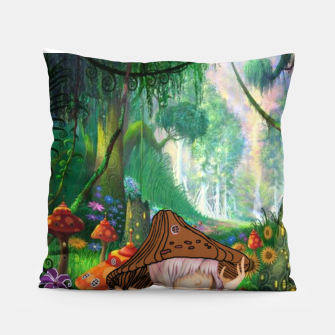 Miniaturka Fairy in the woods Pillow, Live Heroes