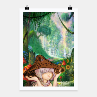 Miniaturka Fairy in the woods Poster, Live Heroes