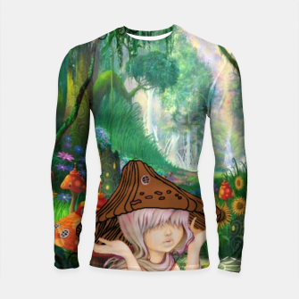 Miniaturka Fairy in the woods Longsleeve Rashguard , Live Heroes
