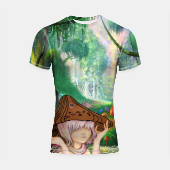 Miniaturka Fairy in the woods Shortsleeve Rashguard, Live Heroes