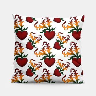 Thumbnail image of Flourish Hearts Pillow, Live Heroes