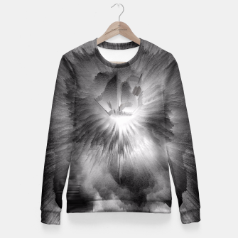 Fire Clouds Fitted Waist Sweater thumbnail image