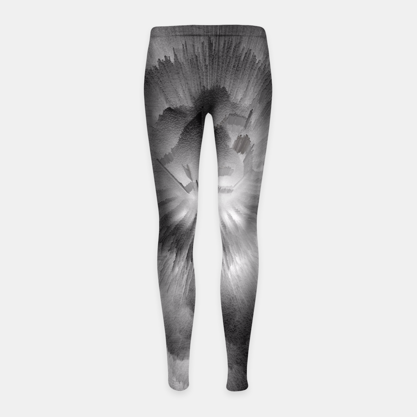 Image of Fire Clouds Girl's Leggings - Live Heroes