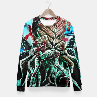 Thumbnail image of I'm awake Fitted Waist Sweater, Live Heroes