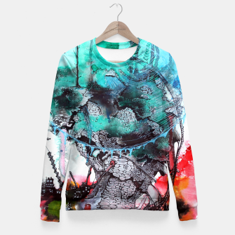 Thumbnail image of Another Worlds Fitted Waist Sweater, Live Heroes
