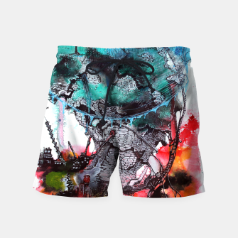 Thumbnail image of Another Worlds Swim Shorts, Live Heroes